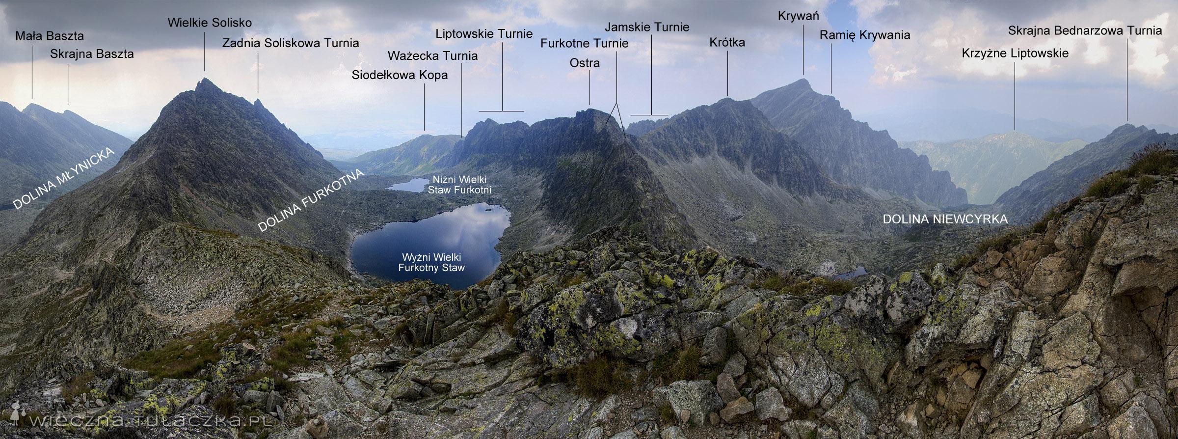 Panorama z Furkotu