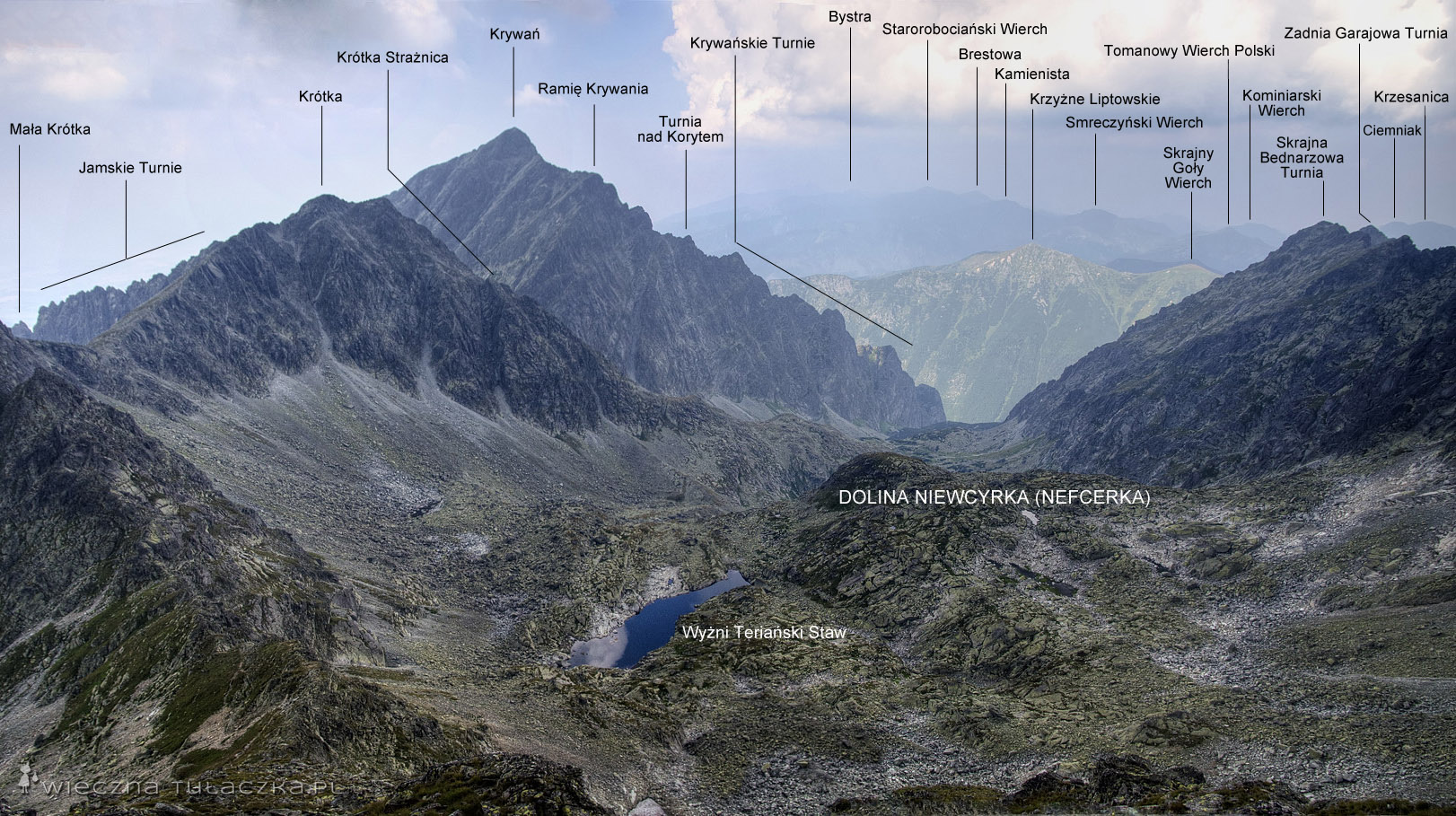 Dolina Niewcyrka z Furkotu