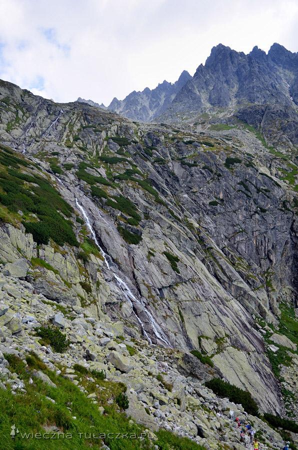 Próg oddzielający Dolinę Małej Zimnej Wody od Doliny Pięciu Stawów Spiskich