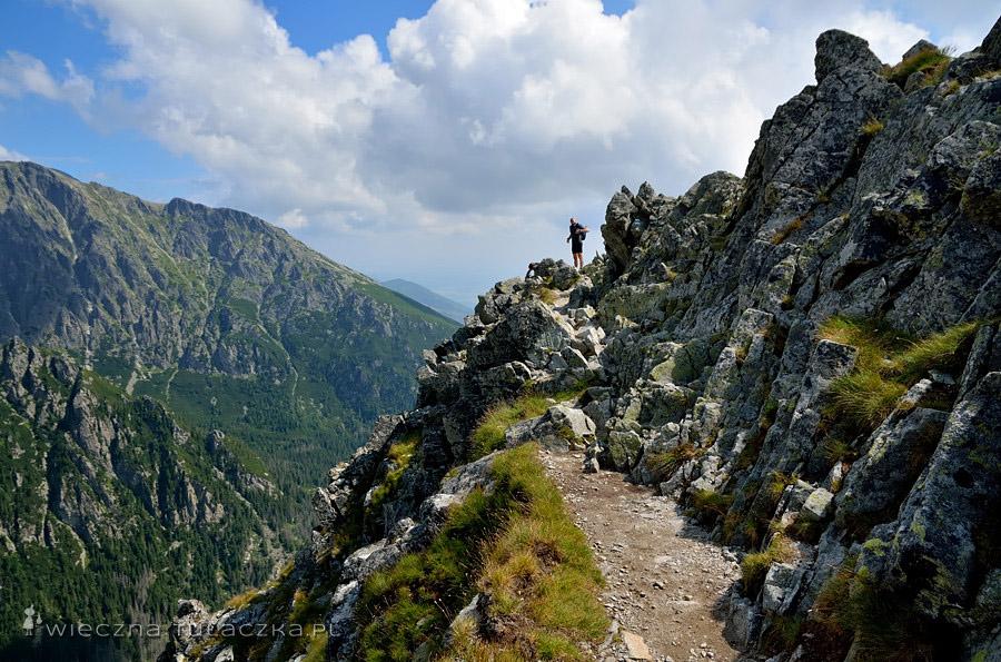 Szlak na Sławkowski Szczyt