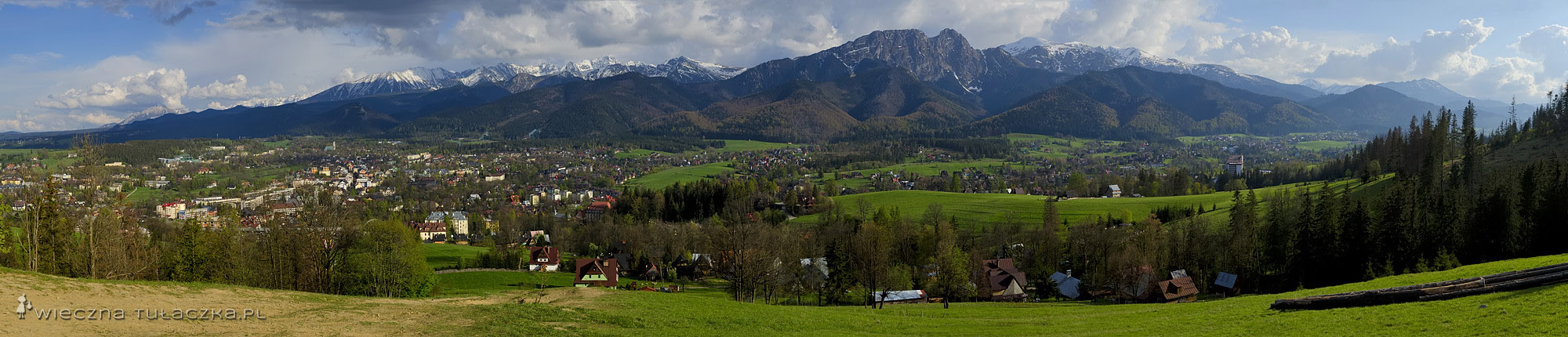 Gubałówka, panorama