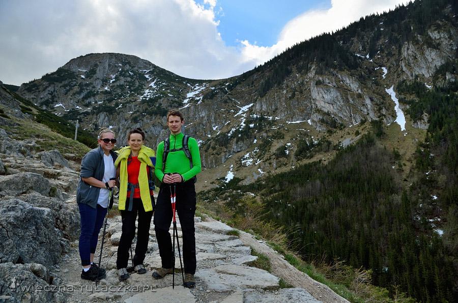 Kopa Magury, szlak na Przełęcz między Kopami.