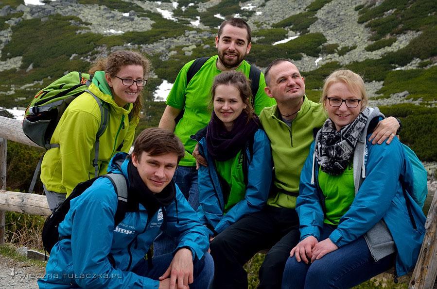 Magda, Kuba, Mateusz, Anita, Paweł oraz Karolina