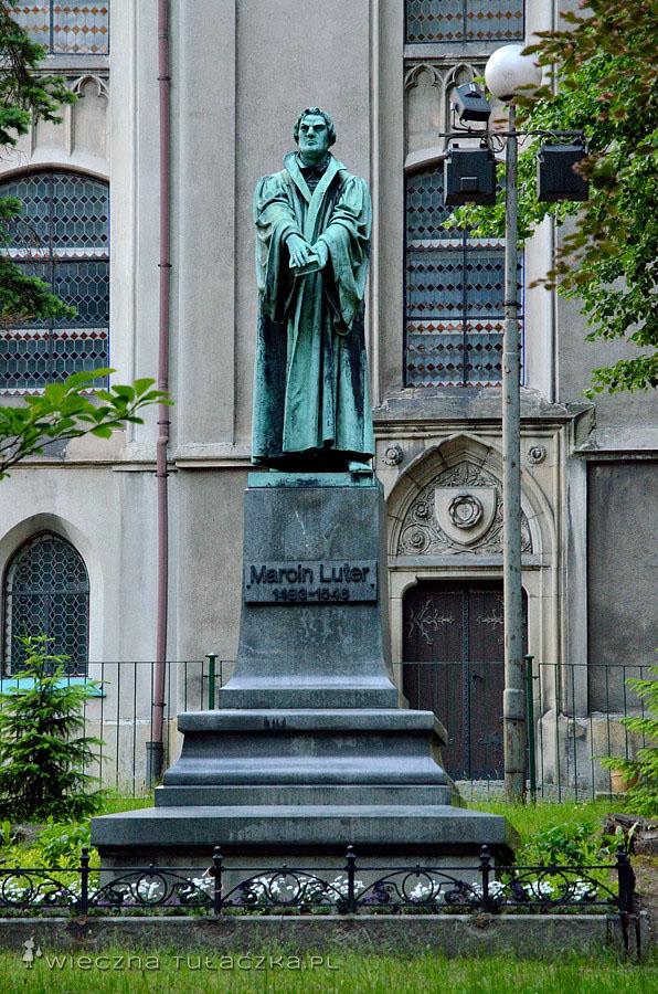 Pomnik Marcina Lutra w Bielsku-Białej