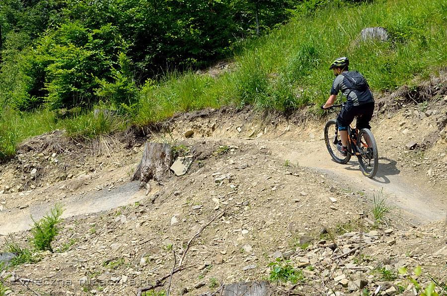 Górskie ścieżki rowerowe Enduro Trails