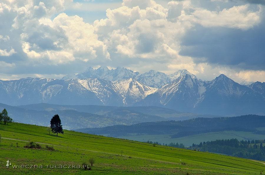 Tatry z okolic Wdżaru