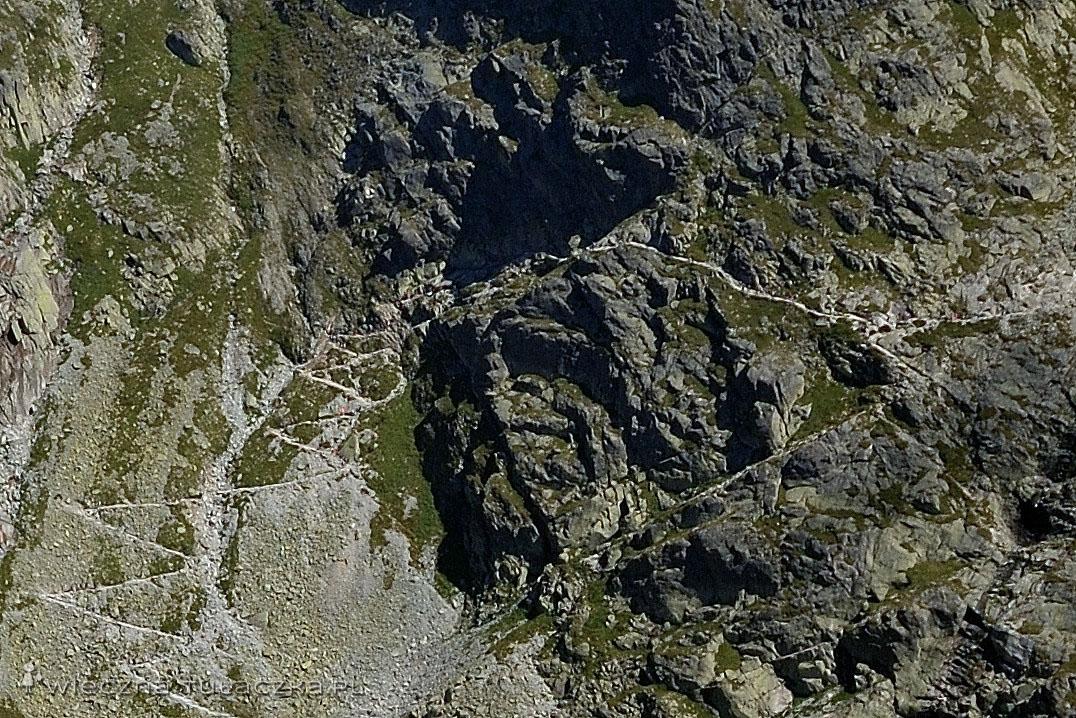 Szlak na Rysy od słowackiej strony