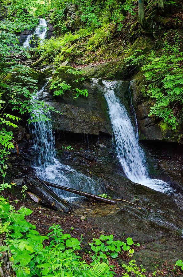 Wodospad Kaskady Rodła