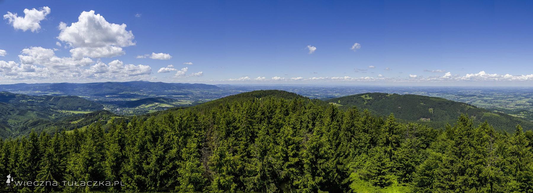 Czantoria Wielka panorama