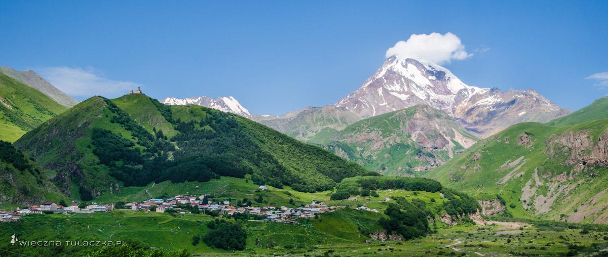 Klasztor Cminda Sameba oraz Kazbek