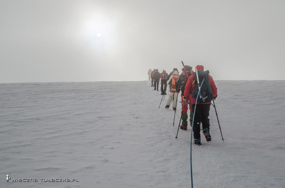 Wejście na Kazbek