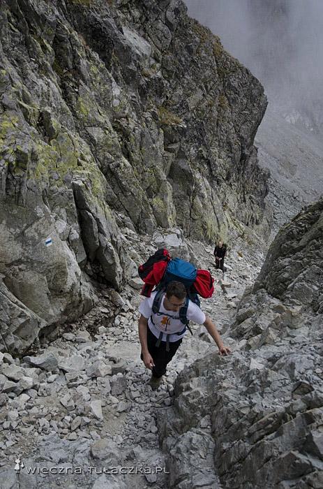 Szlak na Rohatkę od strony Doliny Białej Wody