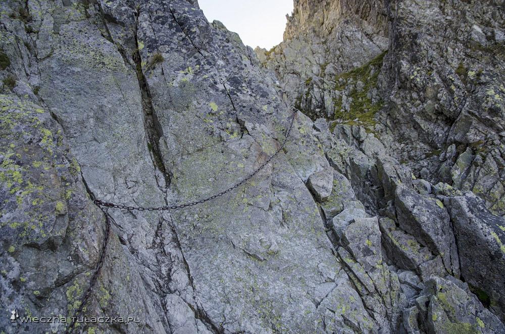 zlak na Rohatkę od strony Doliny Białej Wody