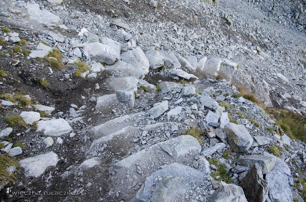 Szlak na Rohatkę od strony Doliny Staroleśnej