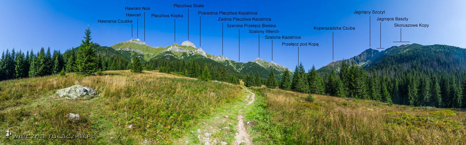 Dolina Zadnich Koperszadów, Tatry Bielskie