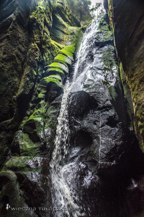 Wielki Wodospad, Adršpach