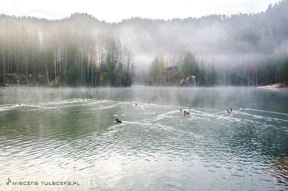 Jezioro Piskovna, Adršpach