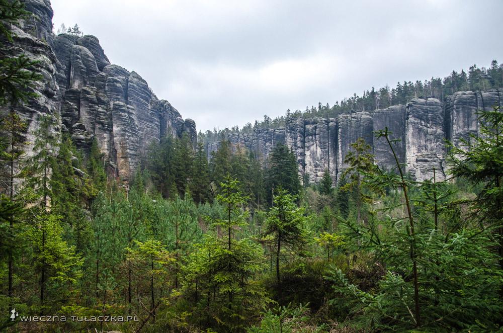 Teplickie Skały w Czechach