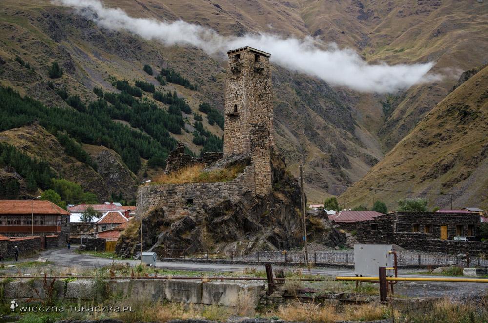 Wieża w Sno, Gruzja
