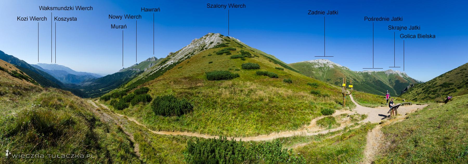 Przełęcz pod Kopą Bielską