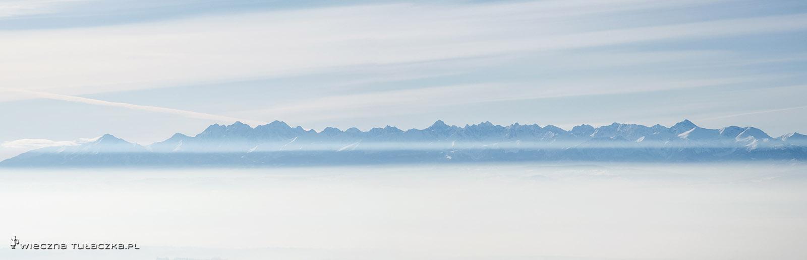Tatry z Babiej Góry