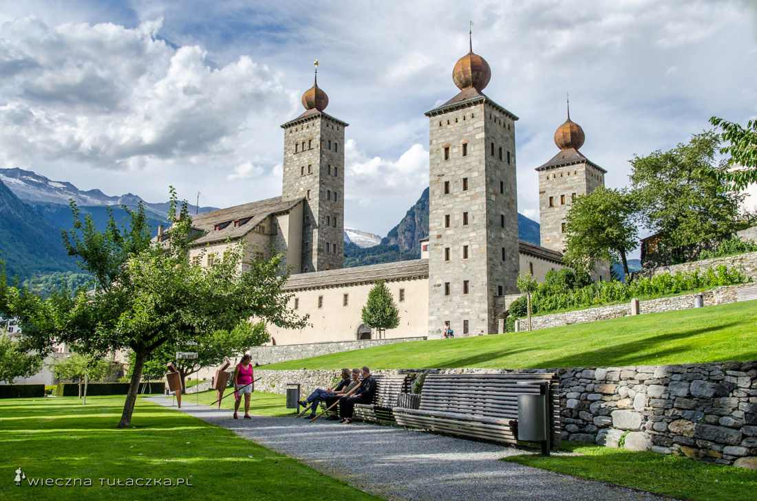 Zamek Stockalpera w Brig