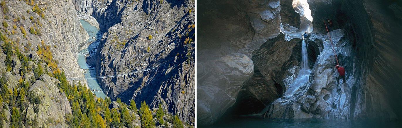 Wąwóz Massa w Szwajcarii