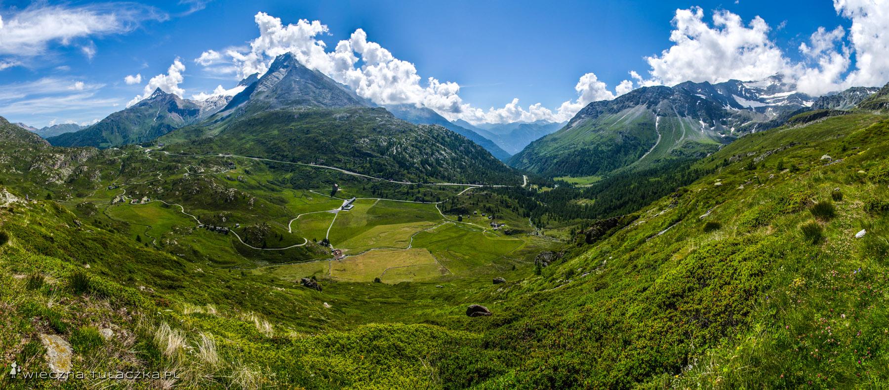 Simplonpass, przełęcz Simplon w Szwajcarii