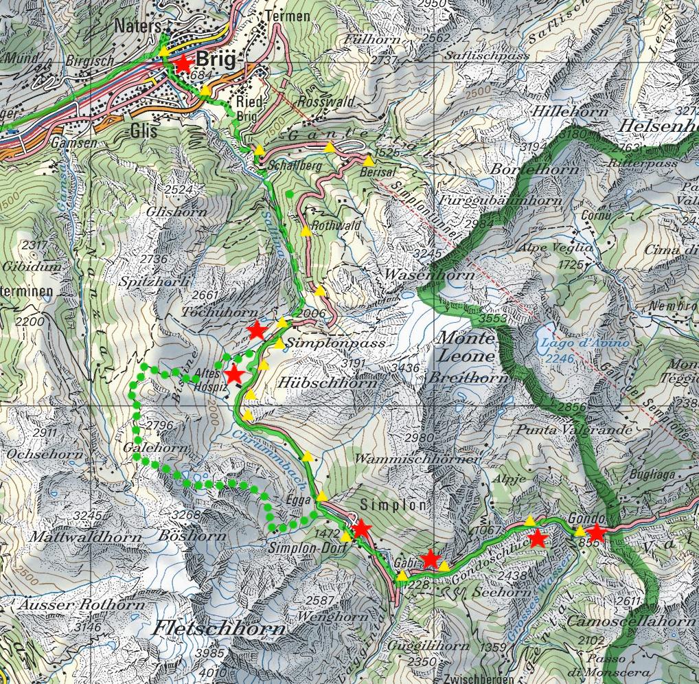 Via Stockalper Szwajcaria