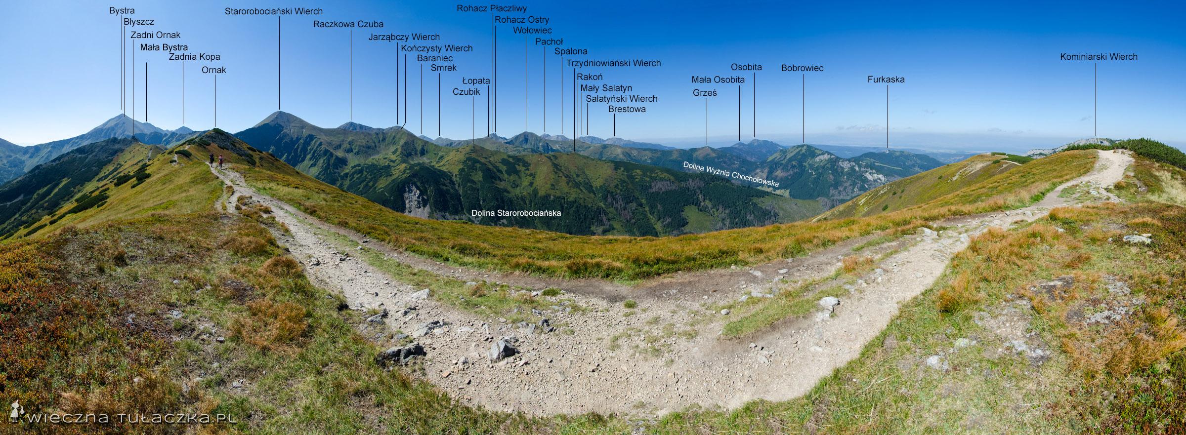 Ornak, panorama