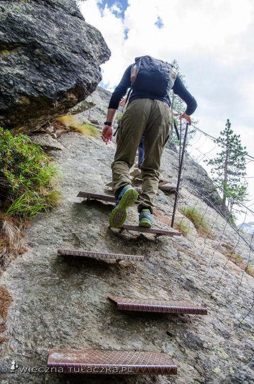 Szlak Przygody Almagellerhorn, Wallis