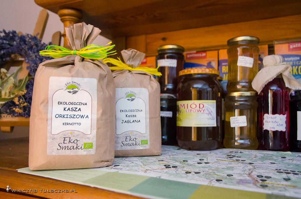 Część produktów ze sklepiku z sezonowymi produktami
