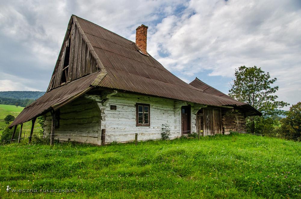Chyża - dom Łemków