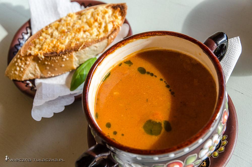 Zupa z raków, Karczma Polska, Mielec