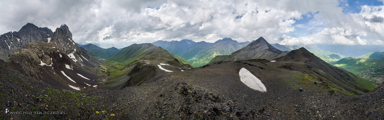 Panorama z Chaukhi