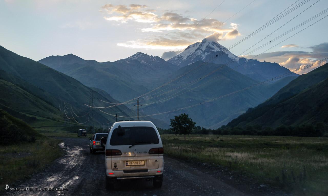 Kazbek z drogi do Juty