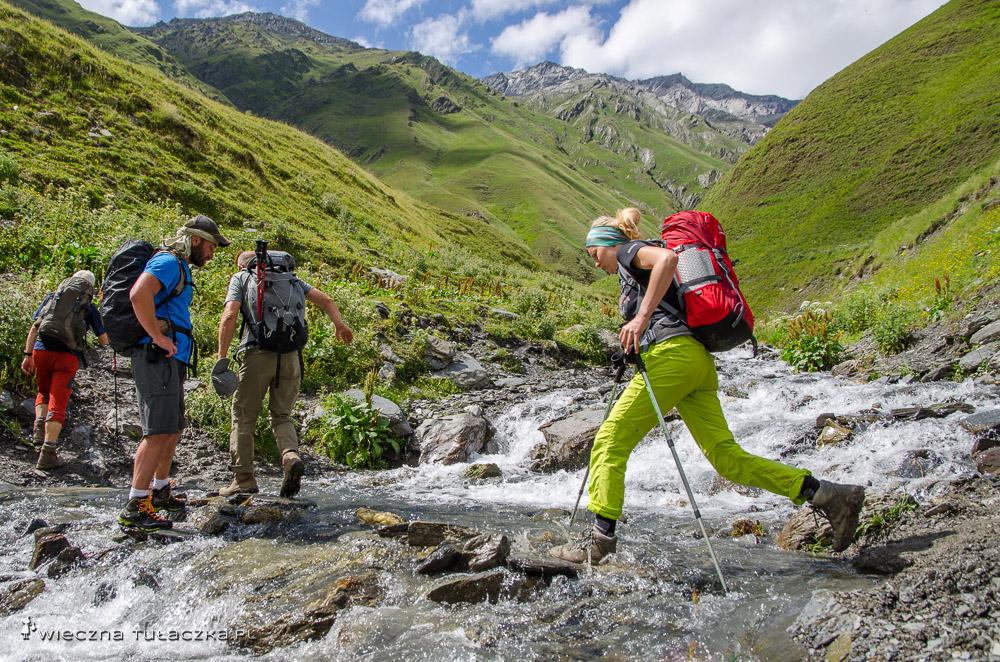 Trekking w Tuszetii