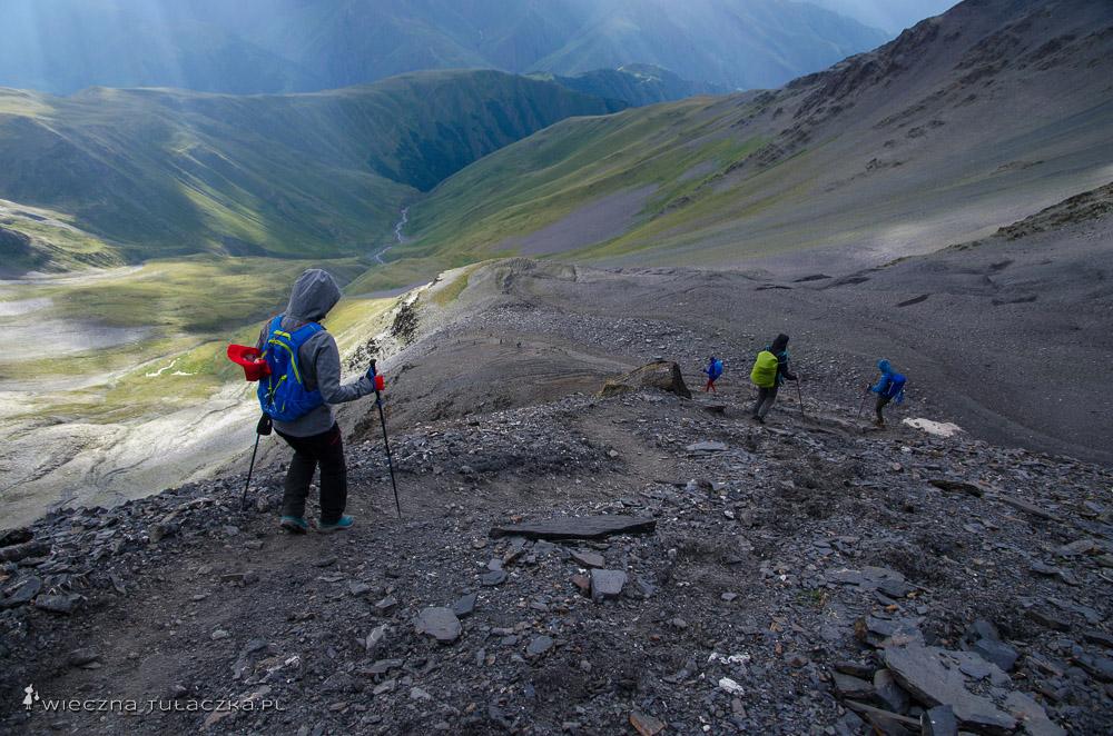 Przełęcz Atsunka w Gruzji