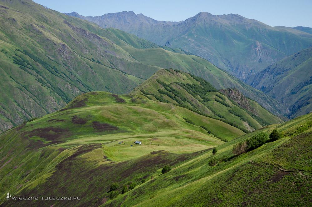 grzbiet Khidotani w Tuszetii