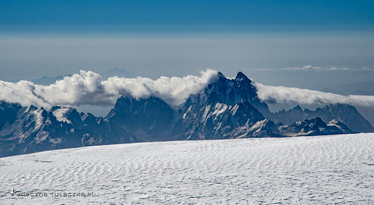 Uszba z Elbrusa