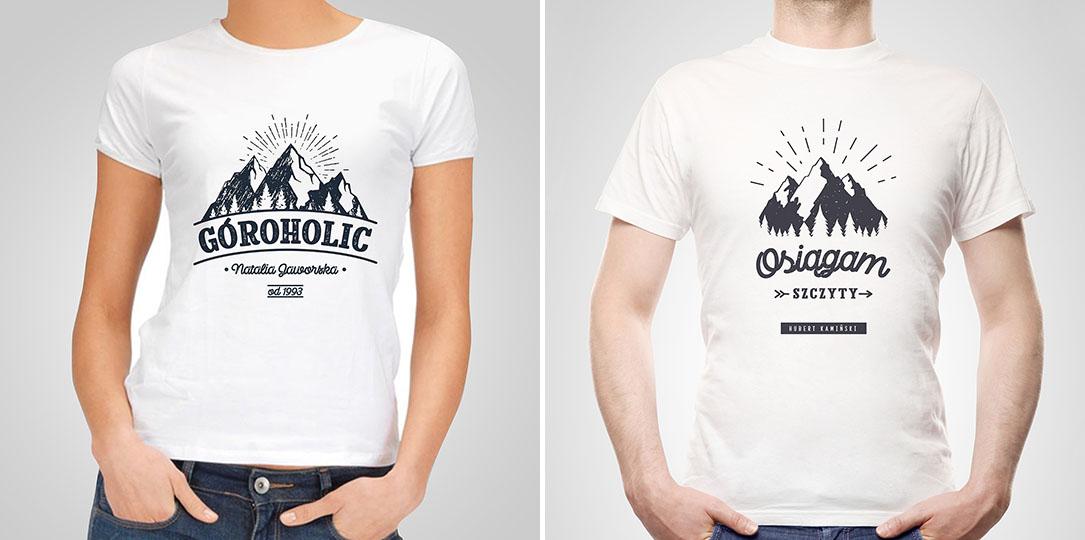koszulki górskie