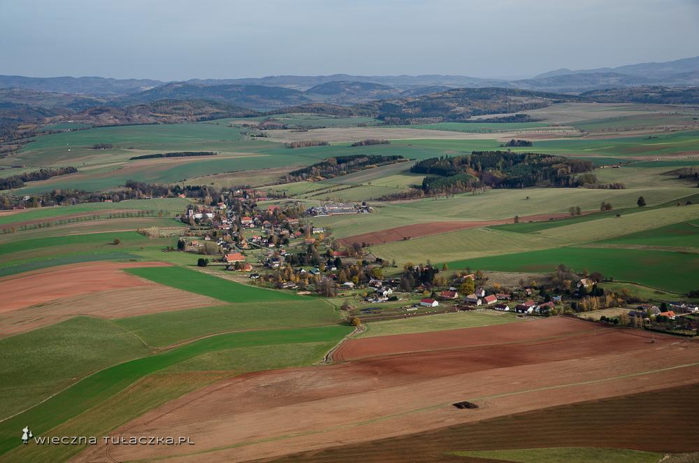 Widok z czeskiej Koruny