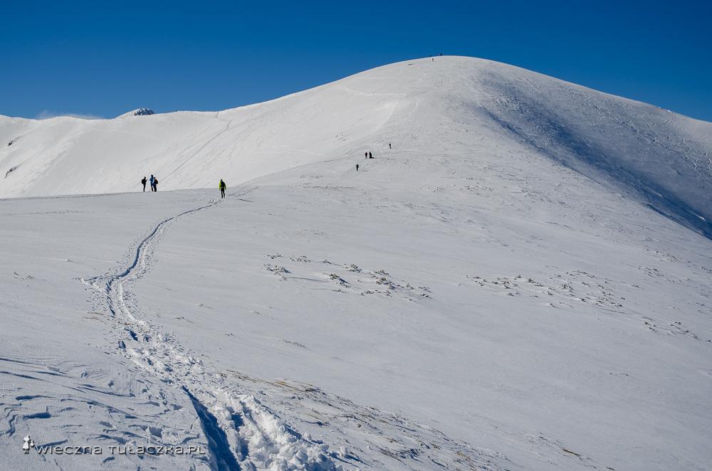 Zimowe wejście na Rakoń