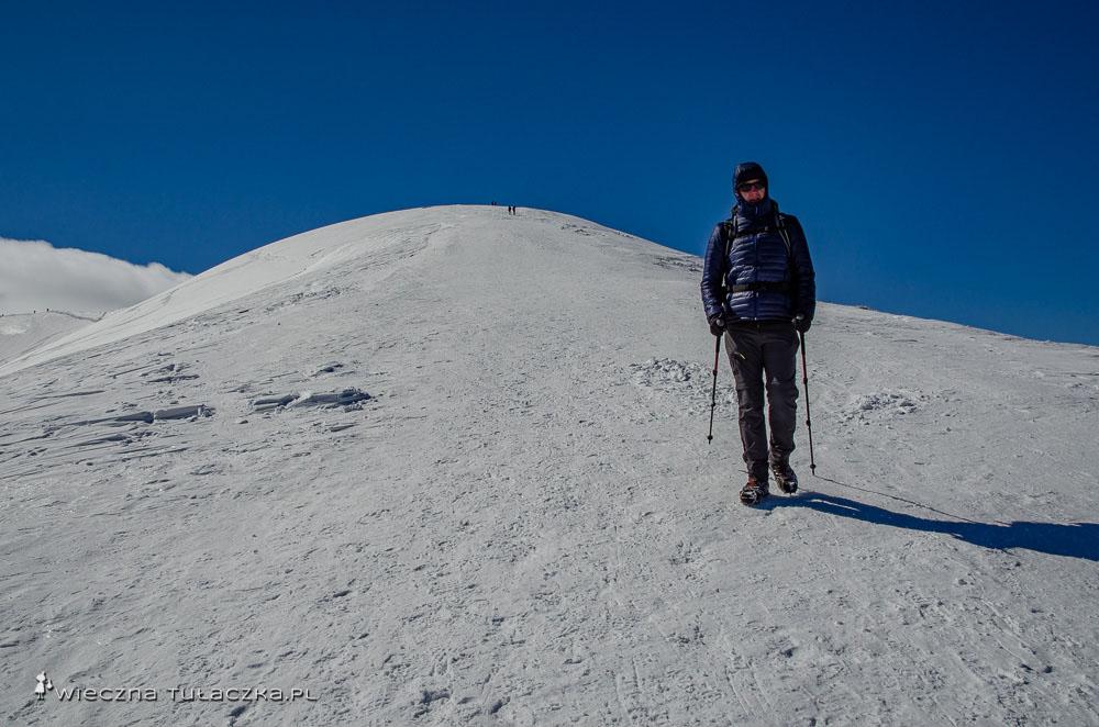 Zimowa wycieczka na Grześ i Rakoń