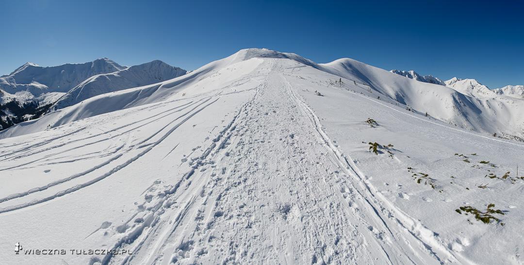 Zimowy szlak na Rakoń