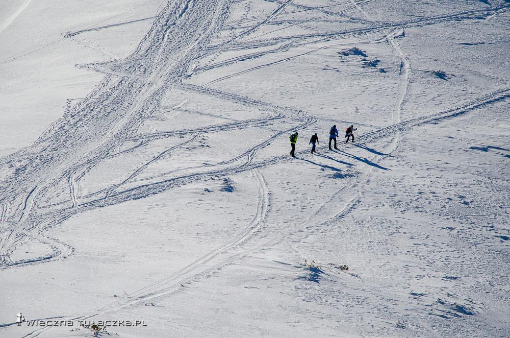 Zimowa droga na Rakoń