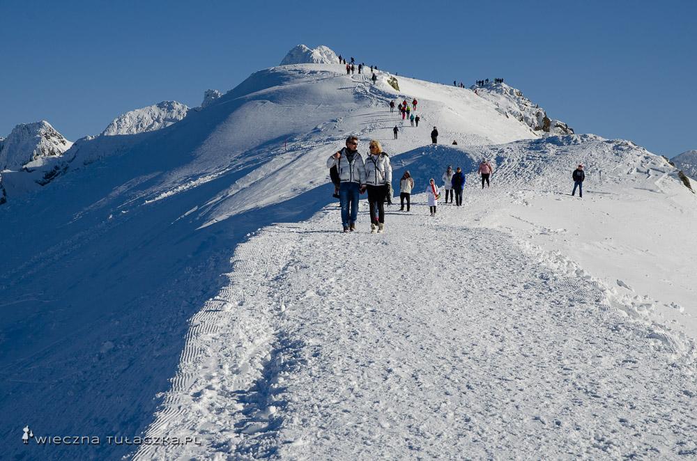 Zimowy szlak na Beskid