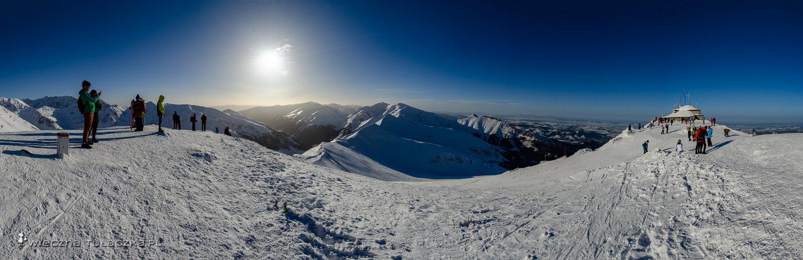 Zimowa Panorama z Kasprowego Wierchu