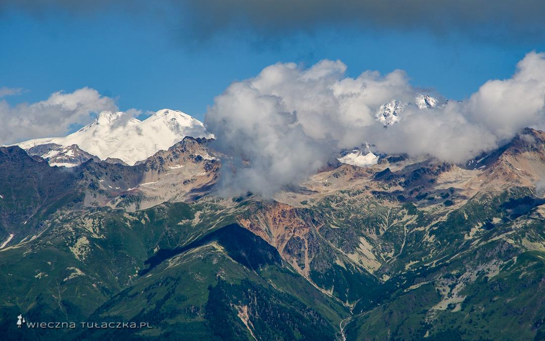 Elbrus, najwyższy szczyt Rosji