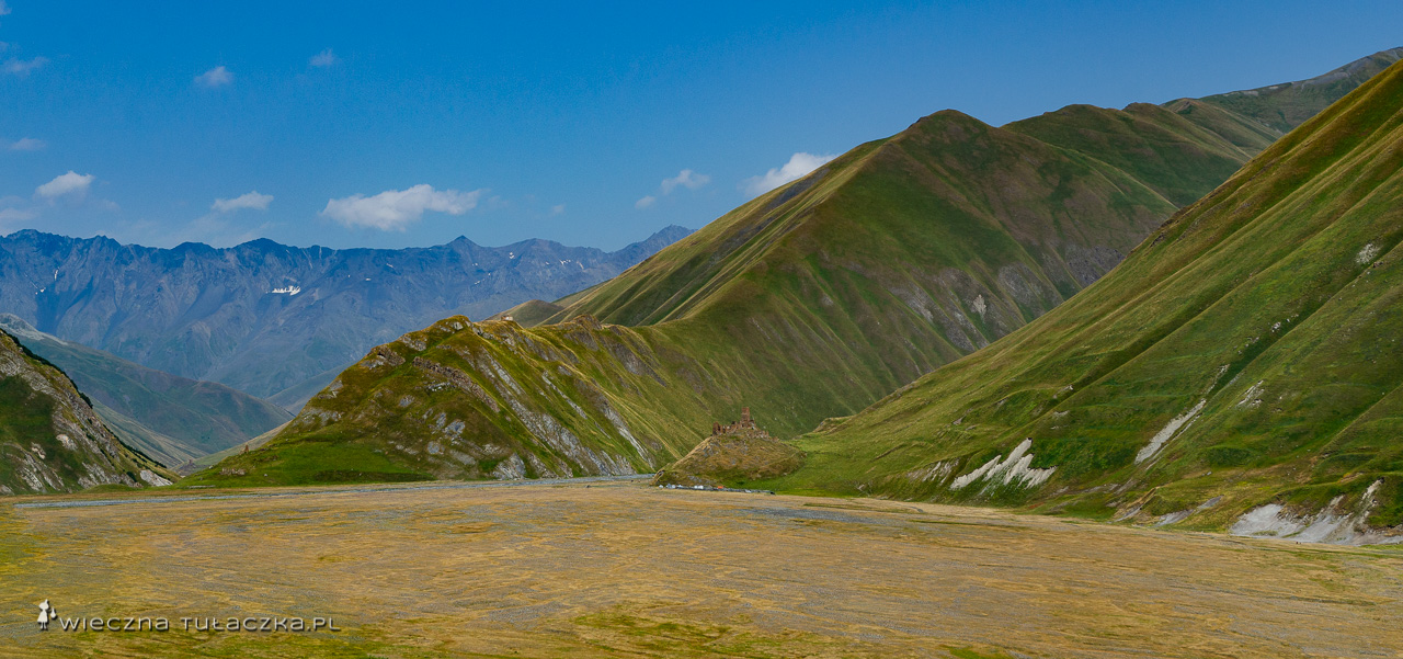 Dolina Truso, Twierdza Zakagori